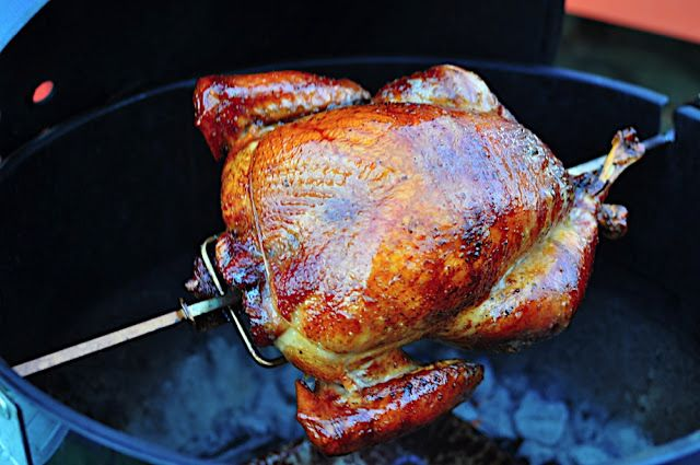 Rotisserie Turkey, Dry Brined with Orange and Spices | Dad Cooks Dinner