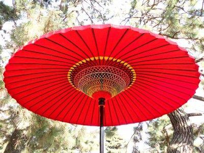 野点傘 三尺五寸 羽二重