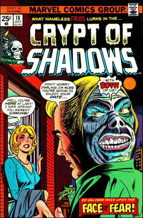 Crypt of Shadows, Marvel comics.