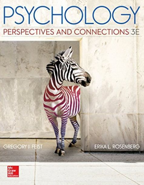 Psychology Perspectives and Connections 3rd edition PDF