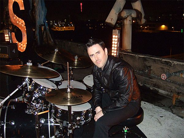 Glen and his drums