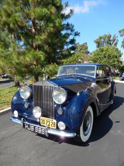 1950 Rolls-Royce Silver Wraith Mulliner