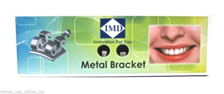 Brackets are the ideal combination of quality, aesthetics and performance. Metal Bracket Copolla Sapphire (Slot: .018)  KIT13 – IMD DENTAL #IMD