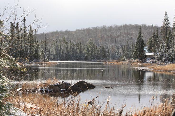 Cabin near Huntsville, Ontario just outside Algonquin Provincial Park. Photographed by Gerrit Hoekstra.