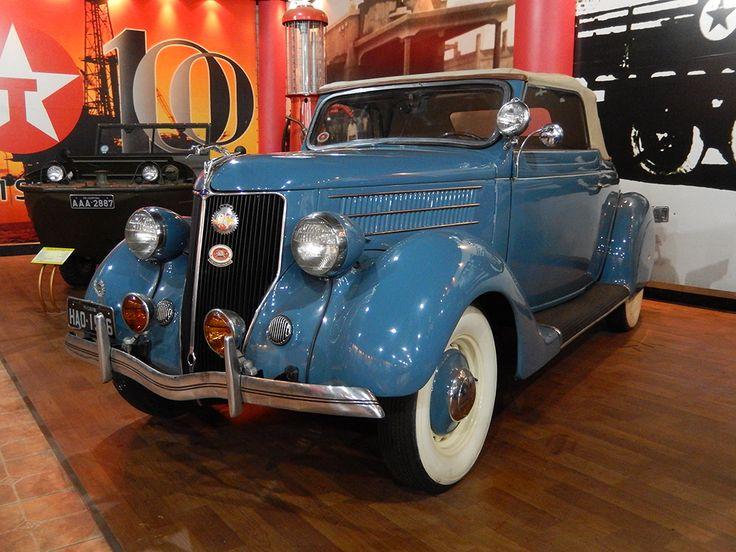 Veículos Vintage - Museu do Automóvel. FORD – Club Cabriolet | Ano: 1936. Procedência: USA