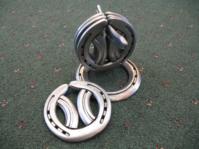 Horseshoe Coaster Set