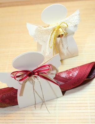 Herzschlüssel: Engel Silhouette Cameo, Datei, #DIY, Ferrero, Serviettenhalter, Verpackung, Deko, Weihnachten
