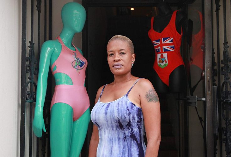 Angel Burgess thought she was onto something with her Bermuda flag swimsuit, but had no idea if it would take off.The Queen Street retailer mulled