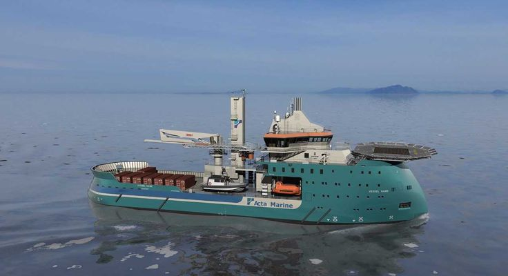 Acta Marine Orders Another CSV from Ulstein   Offshore Wind