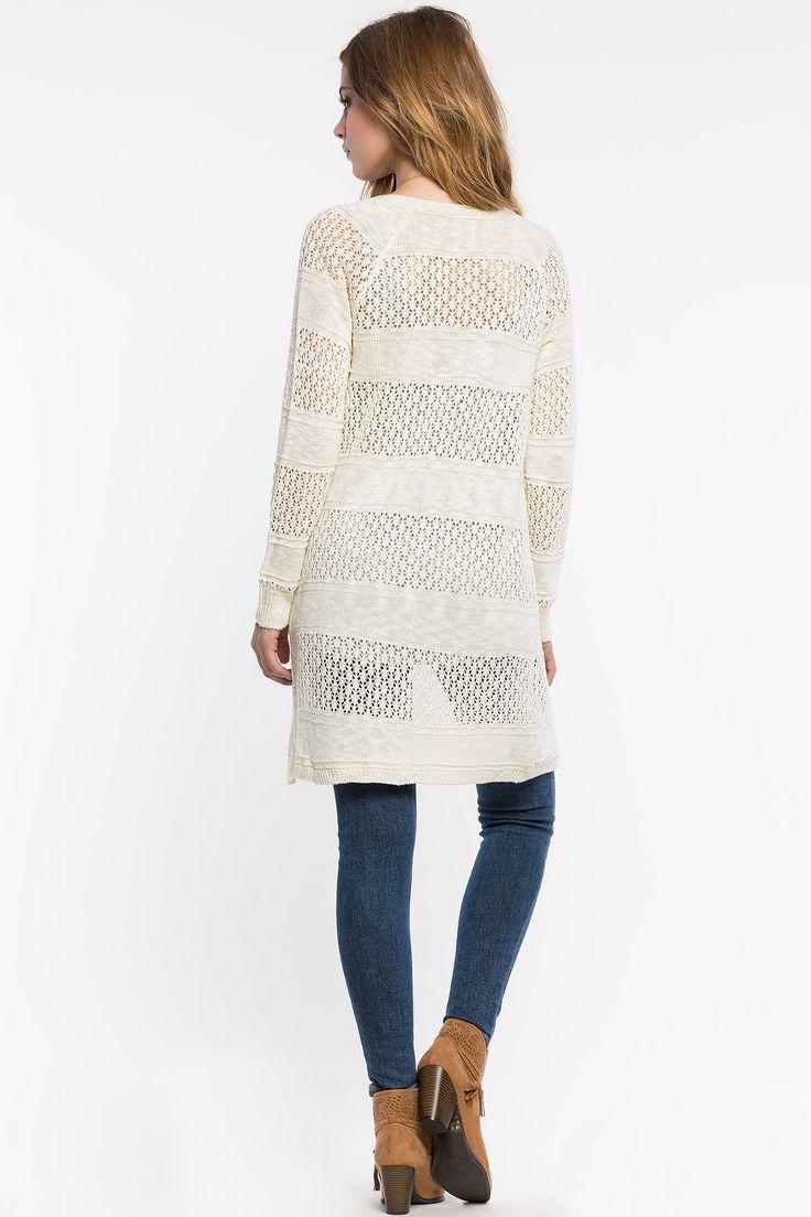 Кардиган Размеры: S, M, L Цвет: кремовый Цена: 1693 руб.     #одежда #женщинам #кардиганы #коопт