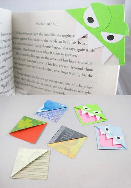 Diy small bookmarks. #dit #dresses www.imdresses.com
