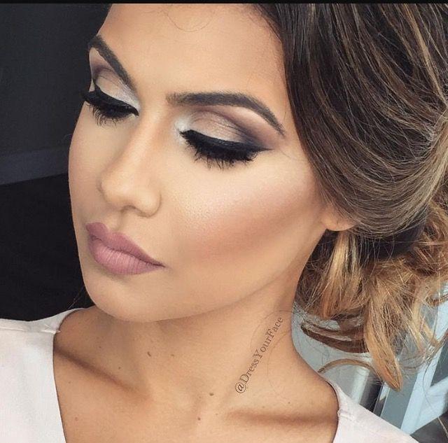 Smokey eye, wedding makeup