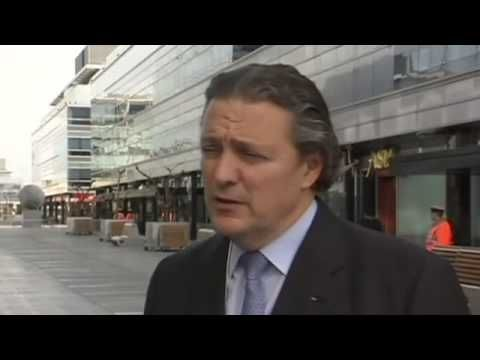 IOC Presidential Candidate Richard Carrion Talks About the Upcoming Vote - YouTube