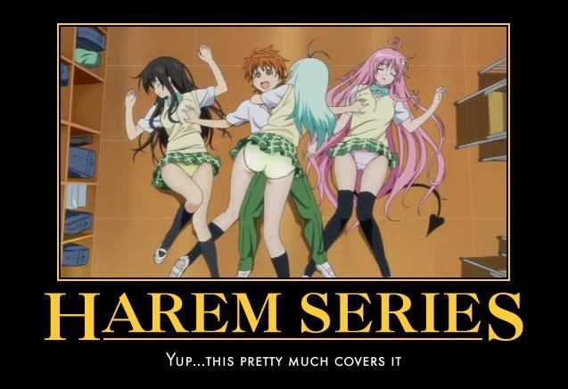 harem series anime motivational posters 1 pinterest