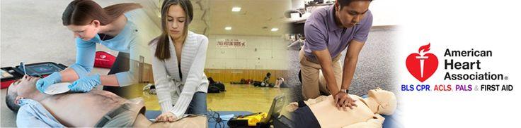 We teach aha cpr aed bls acls first aid acls pals