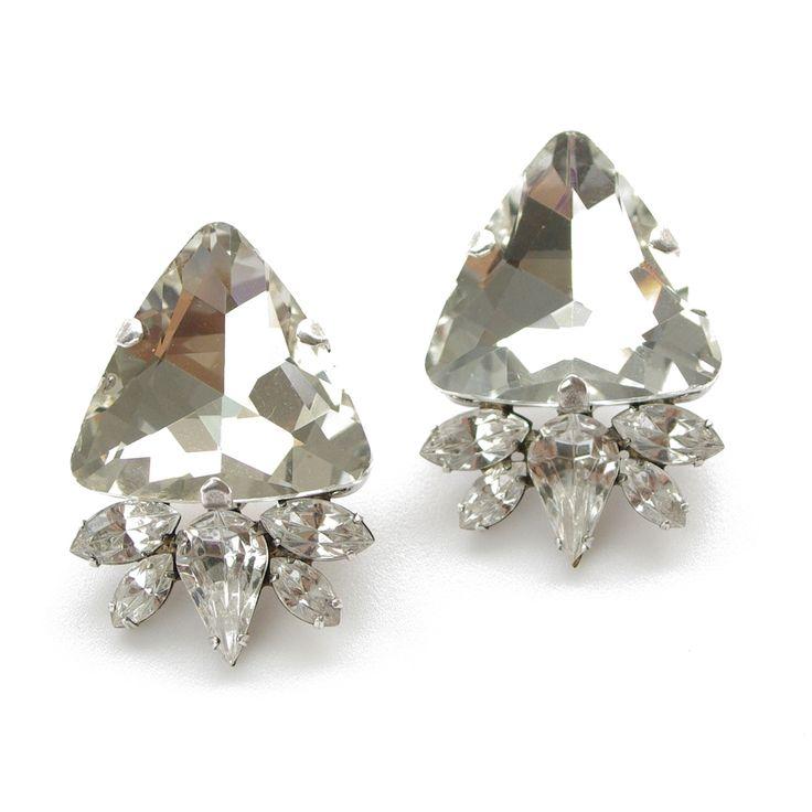 Isett crystal earring