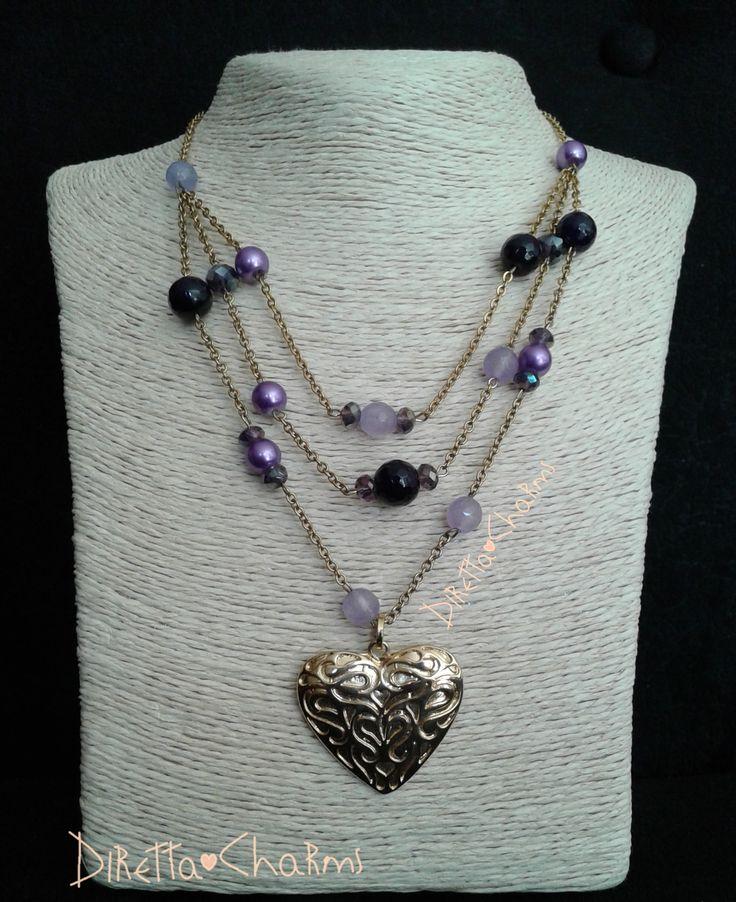 Pedido personalizado!!! Collar en acero con piedras naturales agata y perlas moradas.  Diretta ♥ Charms Accesorios que resaltan tus encantos.  Info wtp + 57 3127080891. Envíos nacionales e internacionales.  #DirettaCharmsAccesorios #DirettaAccesorios #cute #nice #cool #colors #bisuteria #accesorios #followme #inspiration #like #heart #handmade #jewelry #agata #crystal #gemstone #ClientasFelicesDiretta #pearls #jewelryhandmade #instajewelry #design #designer #fashion #beautiful #muranoglass