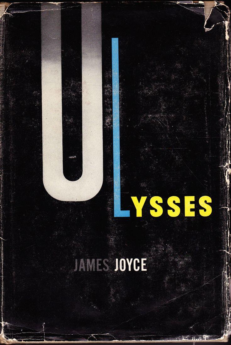 Ulysses by James Joyce. Cover design by Edward Mcknight Kauffer