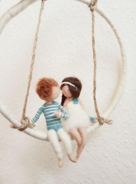 Fensterschmuck - Mobile ♡ Love is in the air ♡ - ein Designerstück von Giodali bei DaWanda
