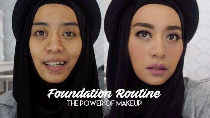 Foundation Routine | Tutorial Makeup Natural Untuk Acara Santai | inivindy
