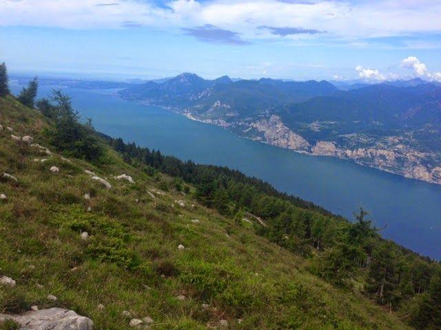 HIKE, BIKE, SLOW FOOD ITALY: Hiking on Monte Baldo: Lake Garda