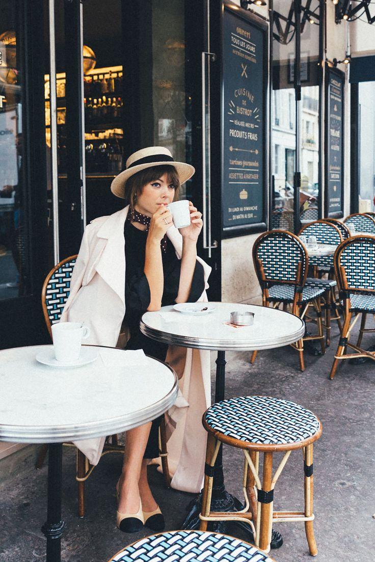Boater Hat Parisian Girl  | Jenny Cipoletti of Margo & Me
