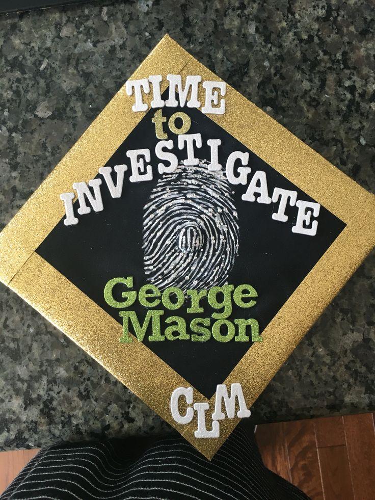 Forensic Science graduation cap design On to graduate school!