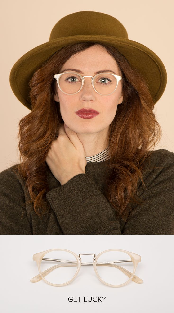 This fall, any hat goes. Spot chic fedoras, wool baseball caps, and luxe knit beanies everywhere from catwalk to crosswalk. The only thing better than finding the perfect hat is pairing it with the perfect glasses, like these Get Lucky frames ($42).  Discover 1000+ styles to accessorize any look at EyeBuyDirect.com. With eyewear options starting at just $6, you can afford to swap your frames like you swap your hats. And with a 14 Day Fit & Style Guarantee, you're sure to love your new look.