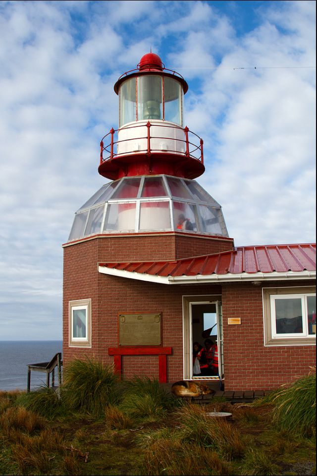 Lighthouse Cape Horn Chilean Land of Fire