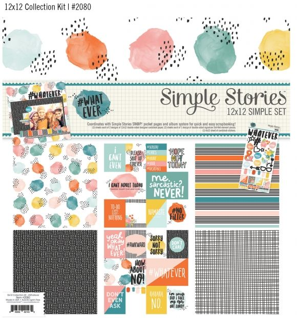 Simple Stories new collection #simplestories #whatever
