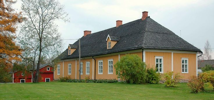Parsonage from the year 1736. Kokkola, Finland.