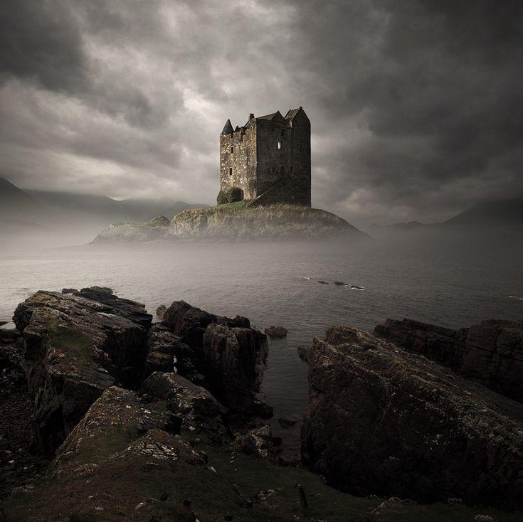 Замок Сталкер, Шотландия 20крутейших замков, вкоторых яосталсябы жить