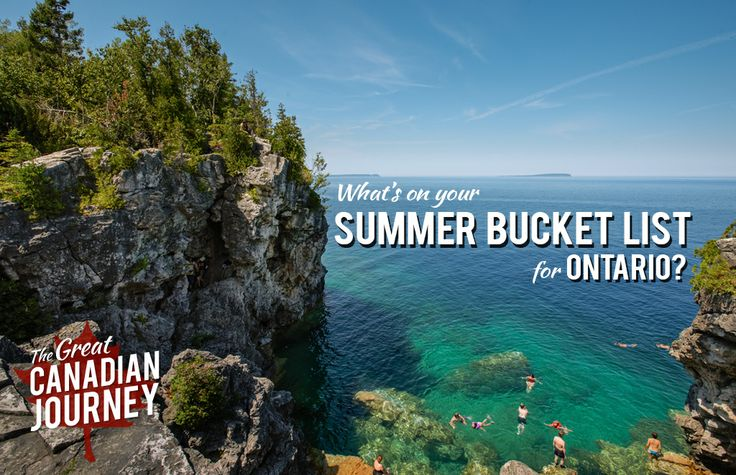 These are all of the tips and suggestions for what to do in Ontario in the summer of 2014, gathered from locals on Facebook and Twitter!