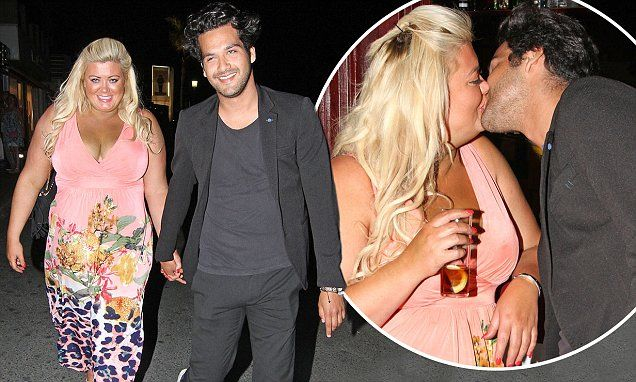 TOWIE's Gemma Collins shares a kiss with new love interest in Marbella
