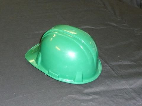 Hard hats are a must in every construction site. We have a very basic and traditional hard hat, part of our collection of protective wear. Cost: $15