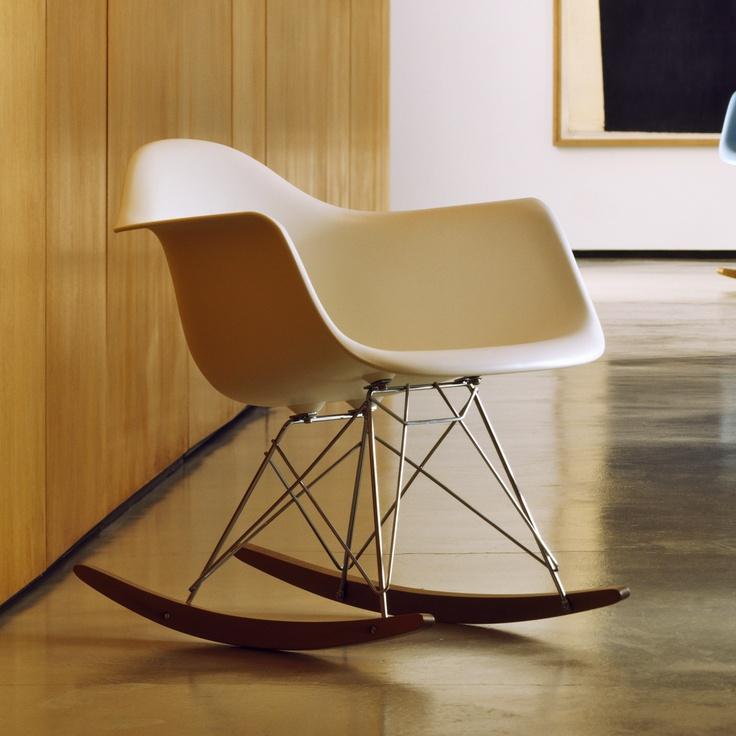 Herman Miller ® Eames RAR Molded Plastic Rocking Chair  AllModern