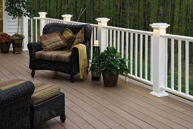 Contract Exteriors believes in only offering the finest quality products. This is why we chose AZEK for our decking.