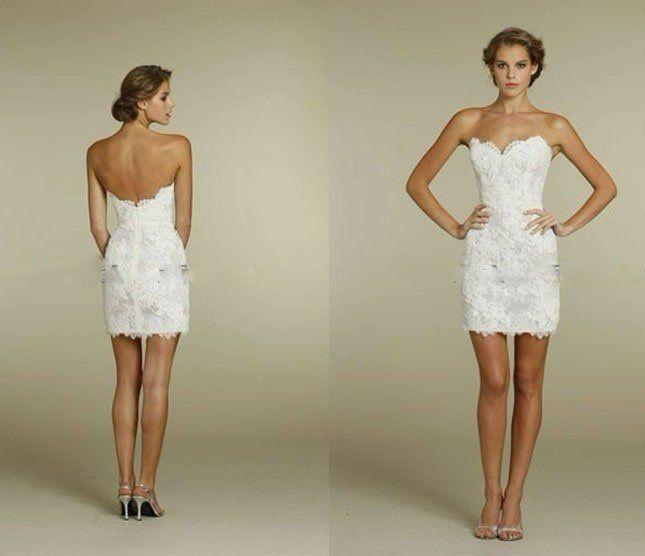 2012 sheathcolumn sweetheart mini sexy short wedding dresses us 9900