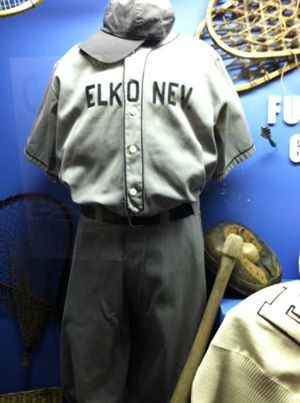 Come in and view our sports exhibit in the history wing and see what our Elko and surrounding area athletes have played over the years. If you are interested in northeastern Nevada school sports history, our library contains yearbooks dating back to the late 1800's. The library and newspaper archives are open to the public Tuesday-Thursday 9-5. #elkohistory #sports