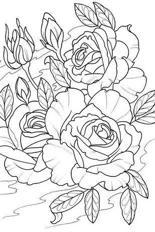 """O """"Modern Tattoo Designs"""", da série Creative Haven, foi desenhado pelo tatuador…"""