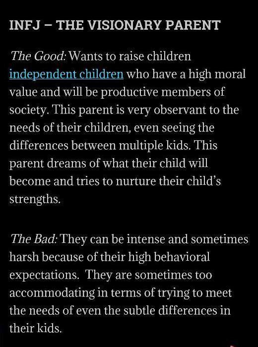 infj as a parent                                                                                                                                                                                 More