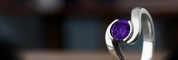 amethyst wirkung edelsteine bedeutung ring