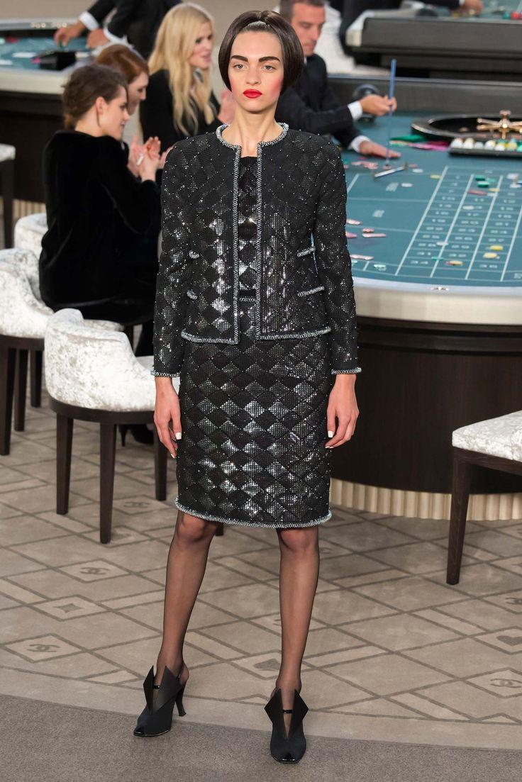 Chanel Fall 2015 Couture Fashion Show - Magda Laguinge