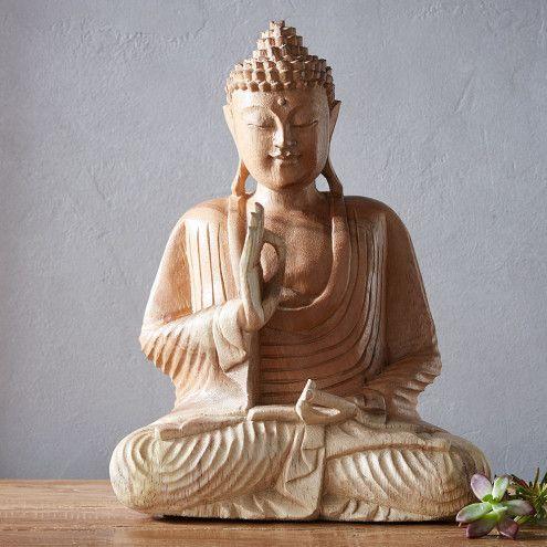 Fearless buddha sculpture