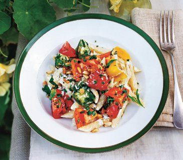 Rebecca Miller's Pasta With Ricotta and Heirloom Tomatoes