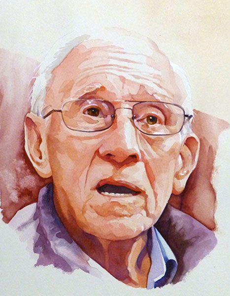 watercolor portraits - Pesquisa Google                                                                                                                                                                                 More