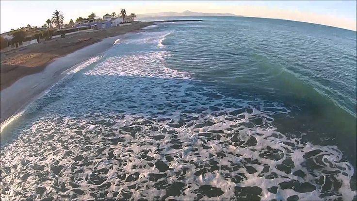 DJI Phantom 2 Vision +    Beach Flying