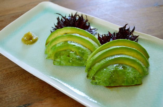 avocado sashimi & yuzu kosho | Must try. | Pinterest