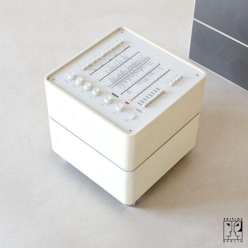 Tumblr 1963 Wega 3300 Hi-Fi System | Design: Verner Panton for Wega-Radio GmbH | Germany