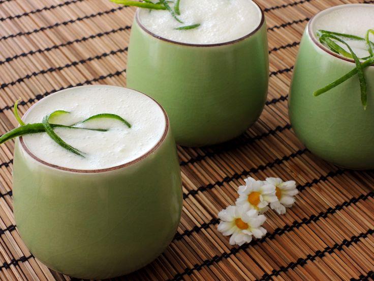 Okurkové lassi - ajurvédský osvěžující nápoj